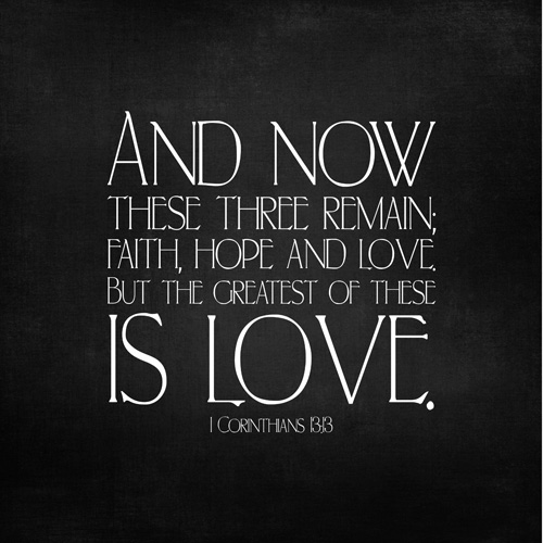faith hope and love quotes like success